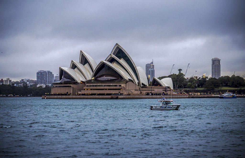 opera house, buildings, harbour bridge